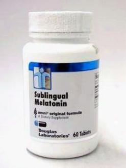 Douglas Lab's Sublingual Melatonin 1 Mg 60 Tabs