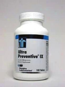 Douglas Lab's Ultra Preventive Ix 100 Tabs