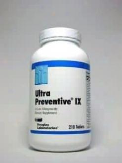 Douglas Lab's Ultra Preventive Ix W/ Vitamin K 210 Tabs