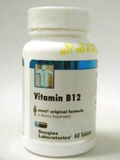 Douglas Lab's Vitamin B-12 2500 Mcg 60 Tabs