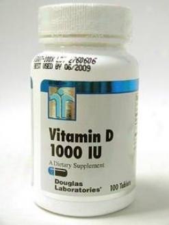 Douglas Lab's Vitamin D 1000 Iu 100 Tabs