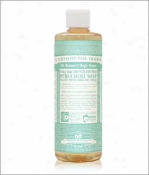 Dr. Bronner's Aloe Vera-baby Mild Castile Liquid Soap 16oz