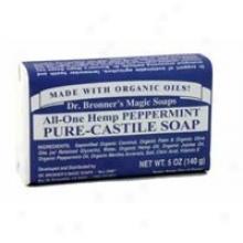 Dr. Bronner's Peppermint Castile Soap Baar 5oz