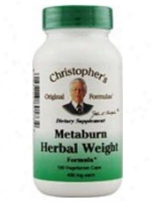 Dr. Christpher's Metaburn Herbal Load Formula 450mg 100vcaps
