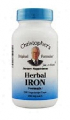 Dr. Christopher's Nourish Iron Assimilation 100caps