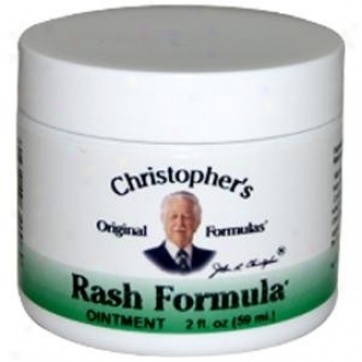 Dr. Christopher's Rash Formula Ointment 2 Fl Oz