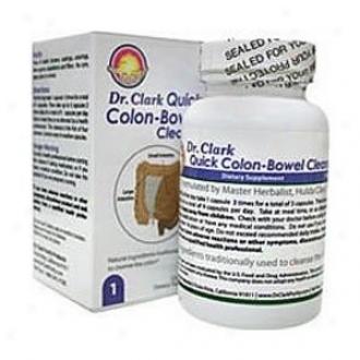 Dr. Clark's Quick Colon Bowel Cleanse 125caps