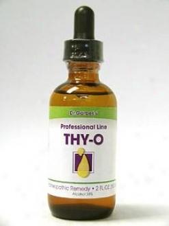 Dr. Garber's Thy-o (hypothyroid) ** 2 Oz