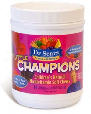Dr. Sear's Little Champions Multivitamin 30ct