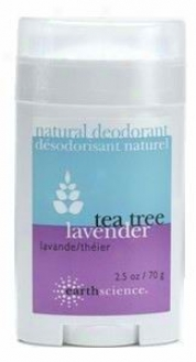Earth Science's T-tree Natural Deodorant 2.5oz