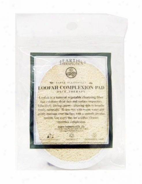 Earth Therapeutics Loofah Complexion Pad
