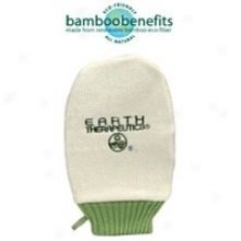 Earth Therapeutics Naturally Anti-bacterial Bamboo Bath Mitt 1pc