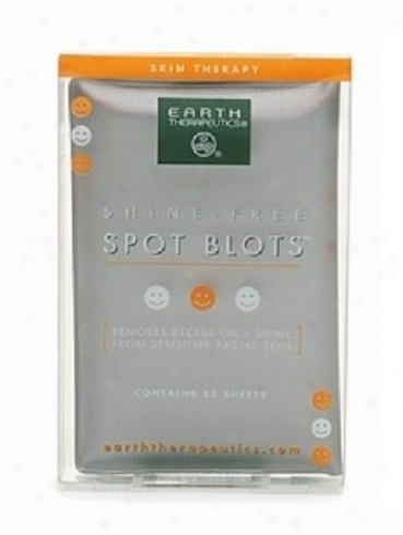 Earth Therapuetics Spot Blots Shine Free 1pack
