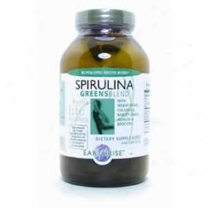 Earthrisd's Spirulina G5eens Blend 7.4oz