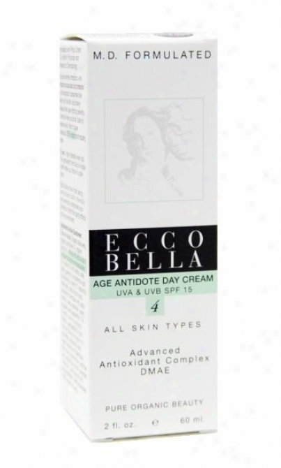 Ecco Bella's M.d. Formulated Skin Care, Age Antidote Day Cream 2oz