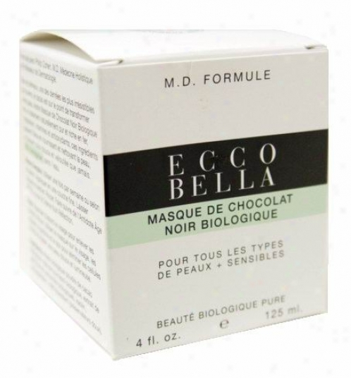 Ecco Bella's M.d. Formulated Skin Care, Organic Dark Chocolate Mask 4oz