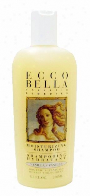 Ecco Bella's Vanilla Bean Moist Shampoo 8.5oz