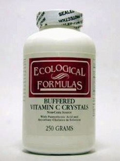 Ecological Formula's Buffered Vitamin C Crystals 250 Gms