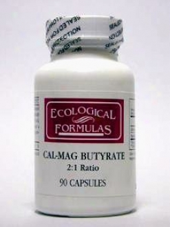 Ecological Fkrmula's Cal-mag Butyrate 90 Caps