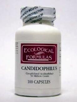 Ecologicla Formula's Candidophilus 100 Caps