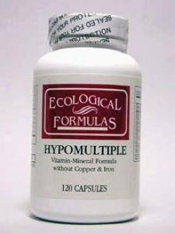 Ecological Formula's Hypomultiple No Cu/fe 120 Caps