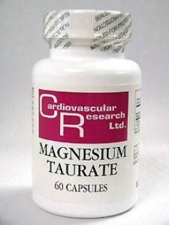 Ecological Formula's Magnesium Taurate 125 Mg 60 Caps