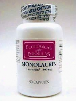 Ecological Formula's Monolaurin (lauric Acid) 300 Mg 90 Caps