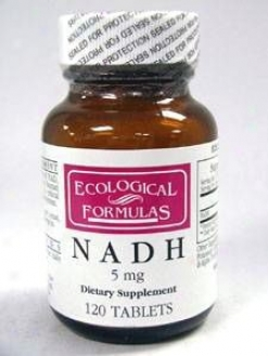 Ecological Formula's Nadh 5 Mg 120 Tabs