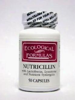 Ecological Formula's Nutricillin 50 Caps