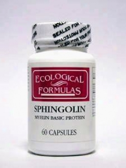 Ecological Formula's Sphingolin 200 Mg 60 Caps