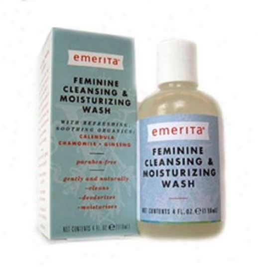 Emerita's Effeminate Cleansing & Moisturizing Wash 4oz