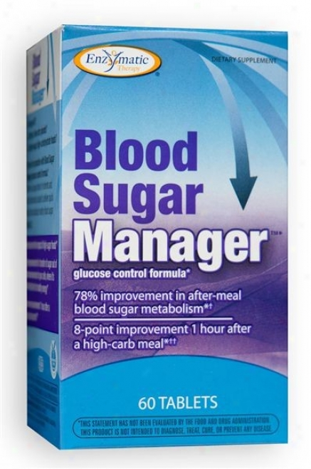 Enzymatic's Blood Sugar Manager 605abs