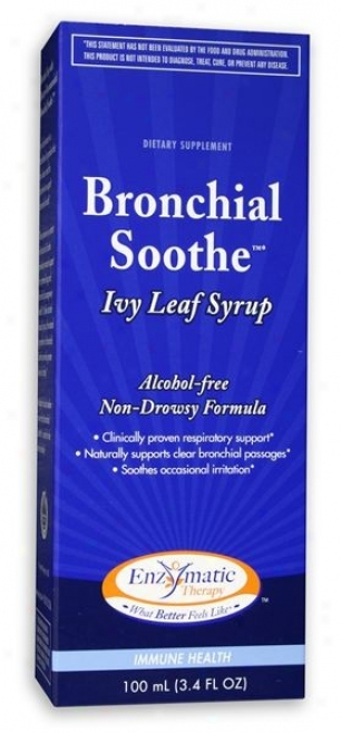 Enzymatic's Bronchial Soothe Ivy Calm Throat Syrup 100ml