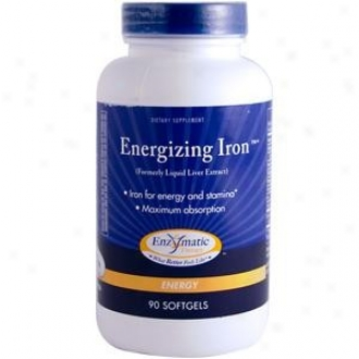 Enzymatic's Energizing Iron (formely Liquid Liver Extract) 90sg