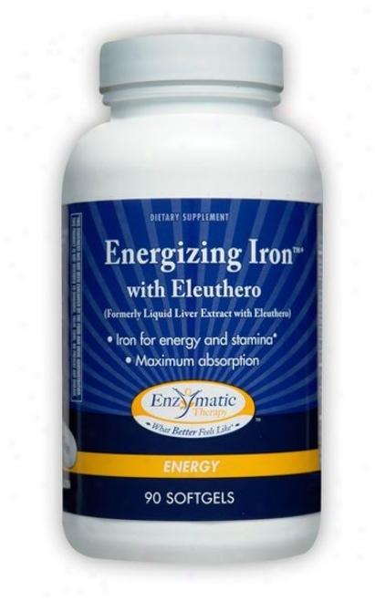 Enzymatic's Energizing Iron With Eleuthero 90sg