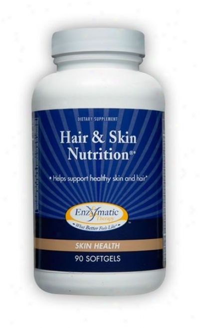 Enzymatic's Hair & Skin Nutrition 90sg