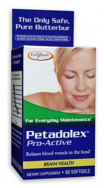 Enzymatic's Petadolex (butterbur)  60sg