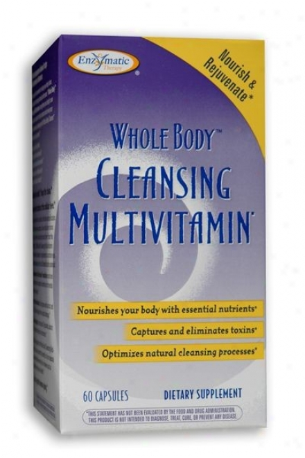 Enzymatic's Whole Body Cleansing Multivitamin 60caps