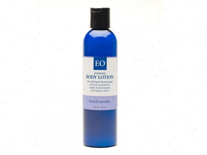 Eo's Body Lotion French Lavender Soothing & Relaxing 8oz