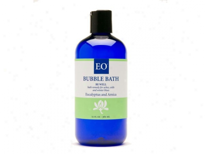 Eo's Bubble Bath Be Well Eucalyptus & Arnica 12oz