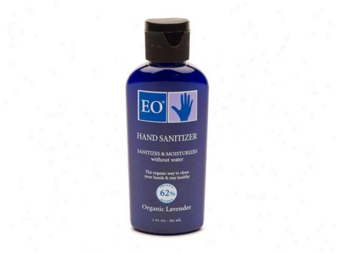 Eo's Hand Sanitizer Organic Lavender 2oz