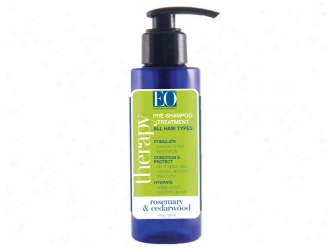 Eo's Pre Shampoo Treatment Rosemary & Cedarwood 4oz