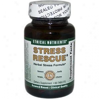Ethical Nutrient's Stress Rescue 60tabs