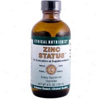 Ethical Nutrient's Zinc Status 4 Fl Oz