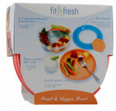 Fit & Fresh's Fruit & Veggie Bowl Ct