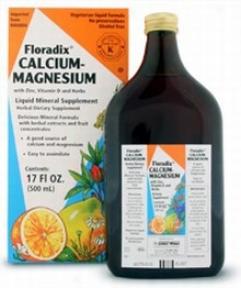 Flora's Calcium Magnesium Liquid 17zo