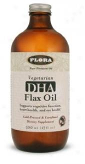 Flora's Dha Flax Oil 17oz