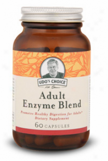 Flora's Udo's Choice Person of mature age Enzyme Blend 60caps