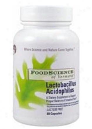 Foodscience's Lacctobacillus Acidophilus Lactose Free 60caps