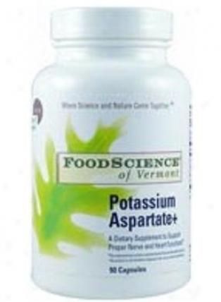 Foodscience's Potassium Aspartate 90caps